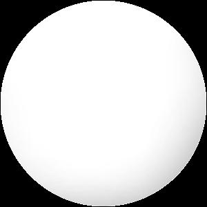 Bílá MDF deska